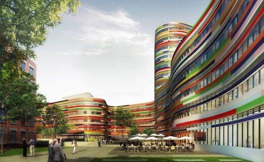 Centro uffici di Amburgo by Sauerbruch Hutton
