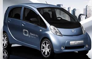 peugeot ion - auto elettrica, auto ecologiche