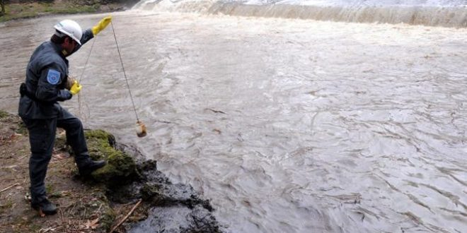 Idrocarburi nel fiume Lambro