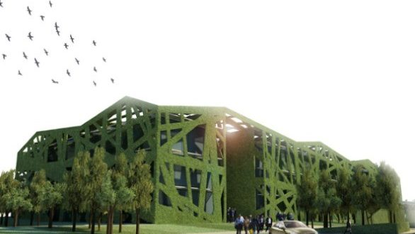 edificio ecosostenibile Provincia di Parma