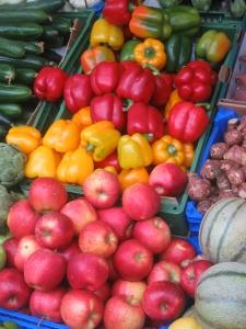 frutta con residui chimici
