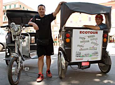 ecotour roma in risciò