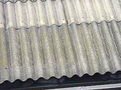 copertura tetto in eternit