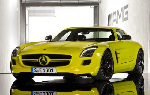 Mercedes SLS MG E-Cell