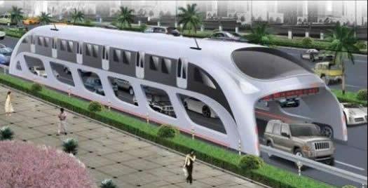 3D Express Coach, autobus sopraelevato