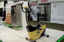 lavatrice a pedali Haier, prototipo
