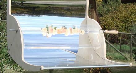 Biogrì, barbecue solare