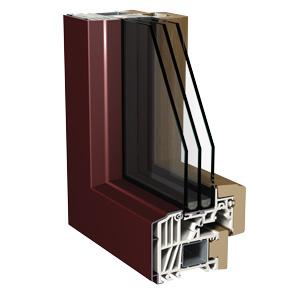 Nuovi infissi legno pvc alluminio for Infissi pvc legno
