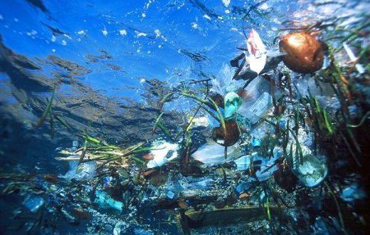 sacchetti di plastica nel Mar Mediterraneo