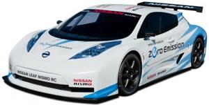 auto elettica da corsa Nissan Leaf Nismo RC